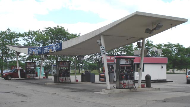 Canadian Tire Gas Bar Canopy