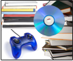Image of Books, CD, Gaming
