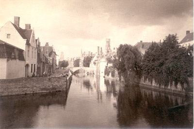 Photograph: Canal in Bruges