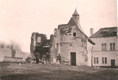 Photograph: Ruins of Chateau of Hougoumont