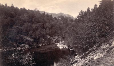 Photograph: Soldier's Leap Pass of Killiecrankie