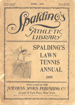 Booklet: Spaldings Lawn Tennis Annual