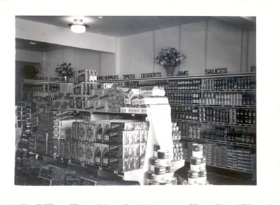 Photograph- Interior Weaver Brothers Store, Lorne Park