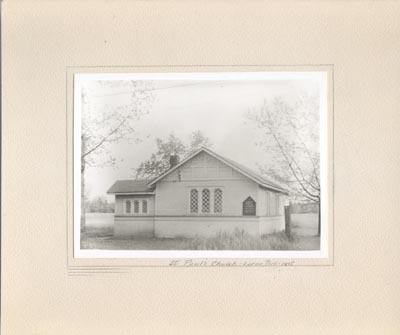 Photograph-St. Paul's Church, Lorne Park, 1915