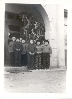 Photograph: Ulsan Orphanage Christmas 1973