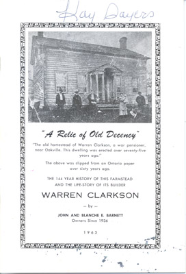 Booklet: A Relic of Old Decency