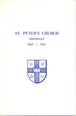Booklet: St. Peter's Church, Erindale 1825-1967