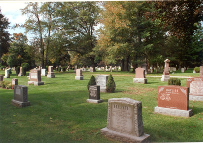 Photograph- Photo of Springcreek Cemetery, Clarkson 2