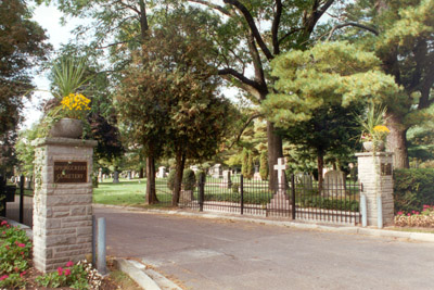 Photograph- Photo of the Entrance to Springcreek Cemetery
