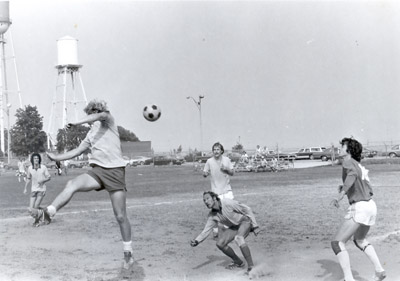 Photograph- Soccer at Serson Park, Lakeview