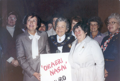 Photograph- Mayor McCallion Returns from Japan