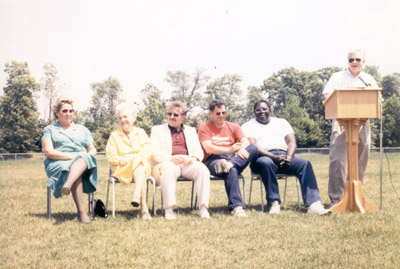 Photograph- Mayor McCallion and Others at Mississauga Track Club
