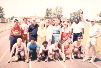 Photograph- Mississauga Track Club: Mayor and Group