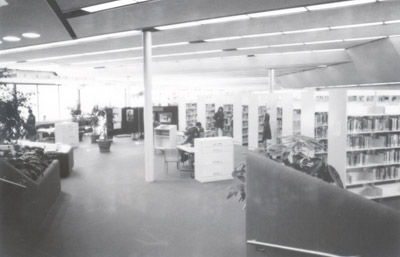 Photograph- Interior of Malton Library