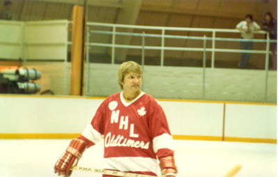 Photograph- NHL Oldtimers hockey player: Keith McCreary