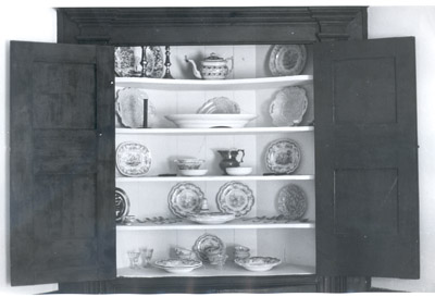 Photograph- Cupboard in Dining Parlour (Bradley House)