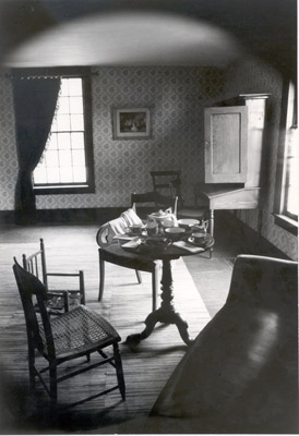 Photograph- Sitting Room in Bradley House