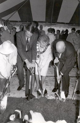 Photograph – Civic Centre Groundbreaking
