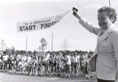 Photograph - Erin Mills Family Run