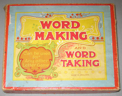 Game: Word Making and Word Taking