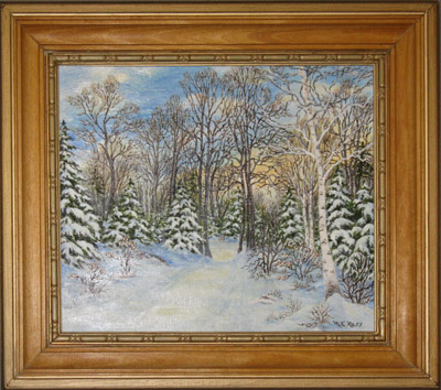 Painting- Winter Morning