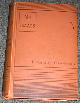 "Book - ""Mr. Isaacs - A Tale of Modern India"