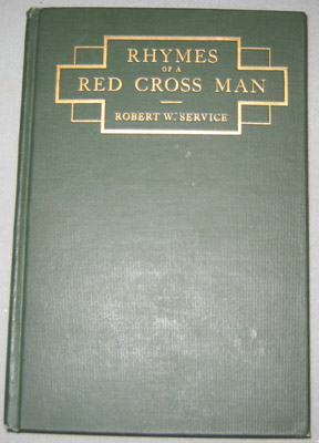 "Book - ""Rhymes of a Red Cross Man"""