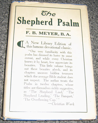 "Book - ""The Sheperd Psalm"""