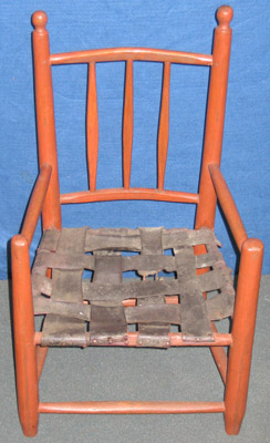 Child's Banister-Back Chair