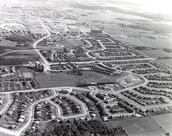 Meadowvale West, Aerial View