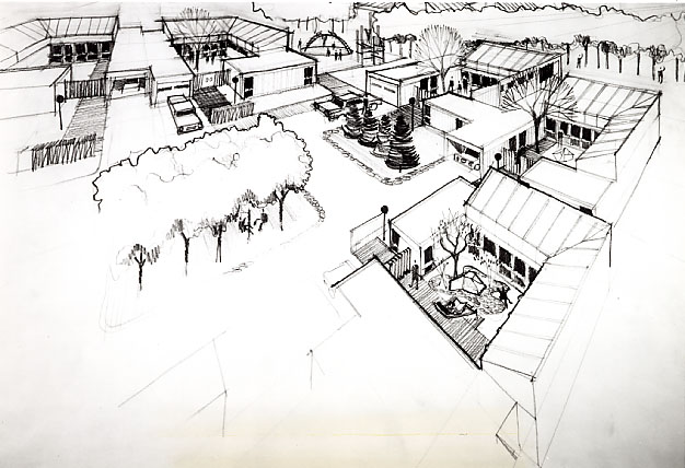 Meadowvale Housing Conceptual Drawing