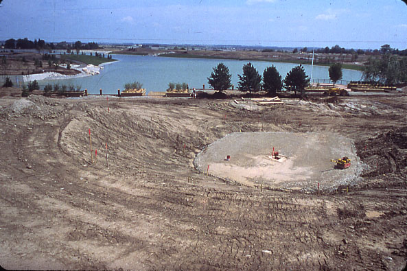 Lake Aquitaine, Amphitheatre Excavation