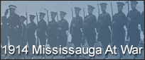 Mississauga and the First World War