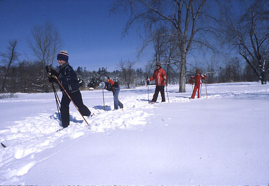 Mississaugua Golf and Country Club, Skiing
