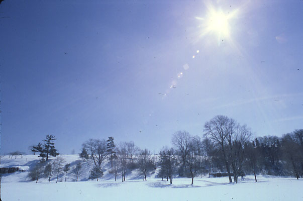 Mississaugua Golf and Country Club in Winter