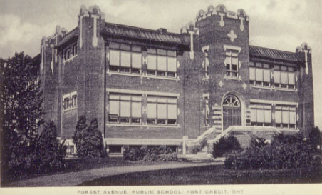 Forest Avenue School, Port Credit