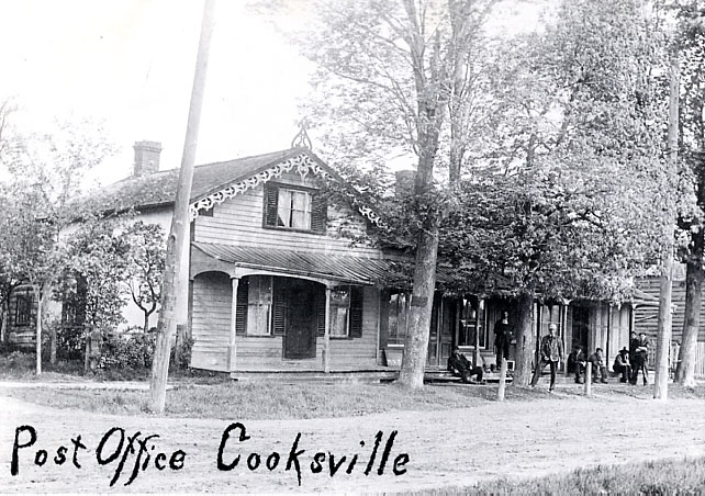 Cooksville Post Office, 1910