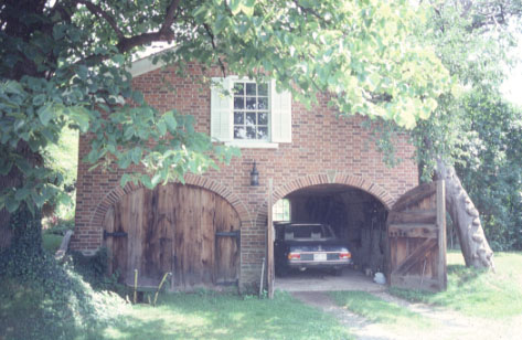 Proctor-Bourne House, Drive-shed, Clarkson