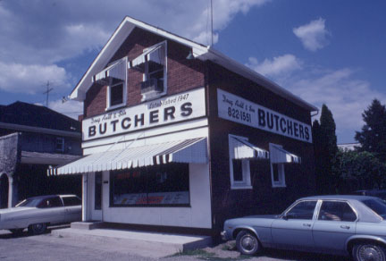 Merchant Bank / Auld Butcher Shop, Clarkson