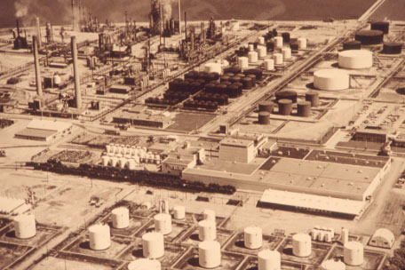 British-American Oil Refinery, Clarkson