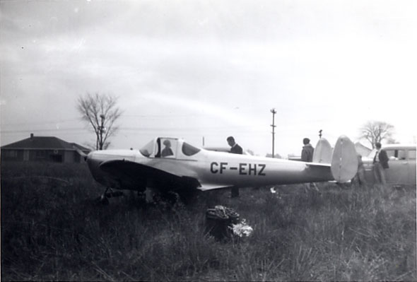 1946 Erco 415-C Emergency Landing