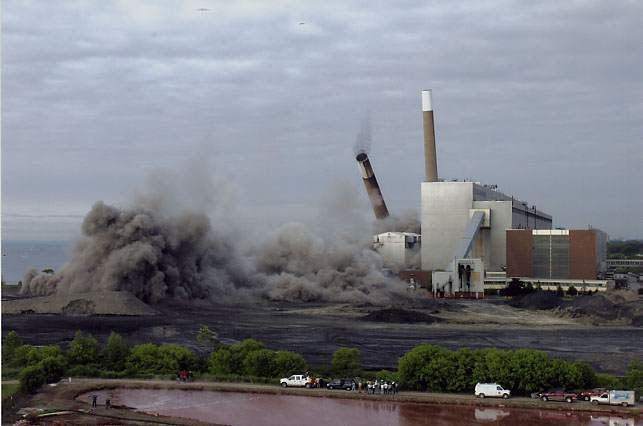 Lakeview Generating Station, Demolition