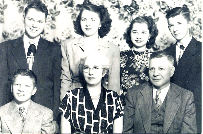 Lillie Leslie Cook and Norman Cook and Family