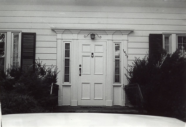 Dr. Dixie's House, Front Entrance, Erindale
