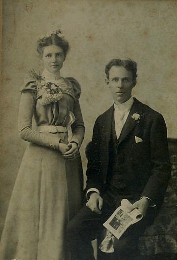 Harry Edwin Burton and Helena Trimble Burton