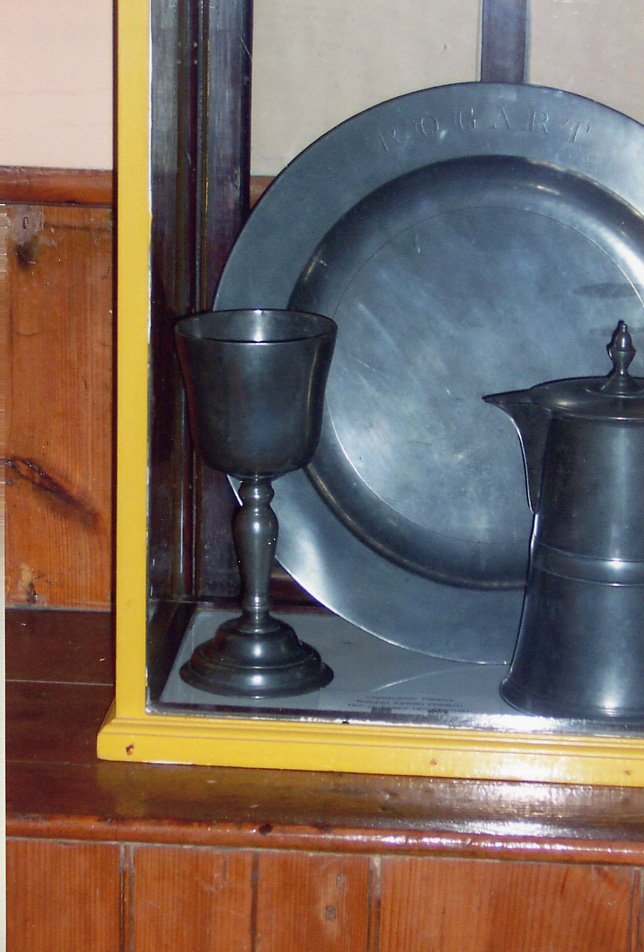 St. Callan's Church, Communion Set, Rogart, Scotland