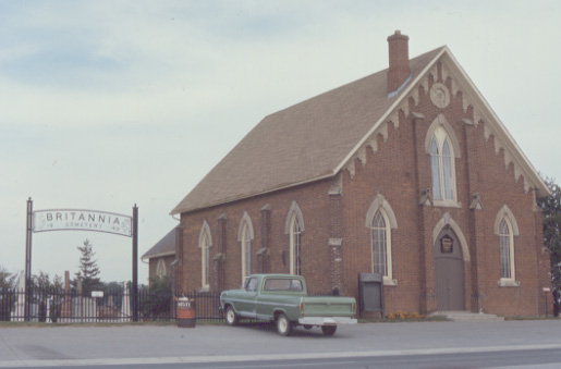 Britannia United Church and Cemetery