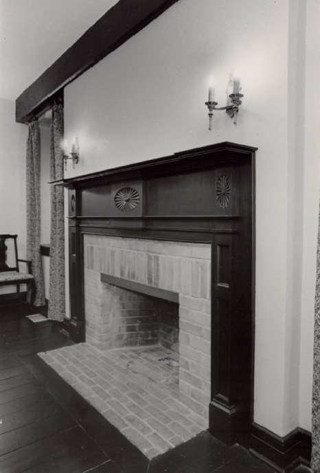 Cawthra-Elliot Estate (Lotten), Fireplace, Dixie