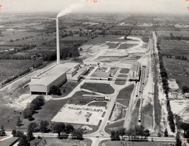 St. Lawrence Cement Company, Clarkson