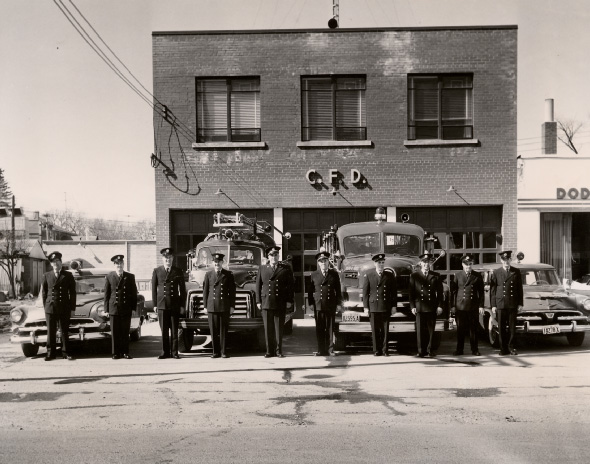 Cooksville Fire Department, ca 1968
